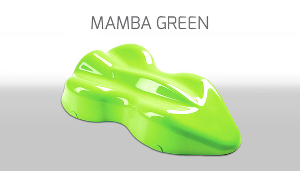 Custom Creative Solvent-Based Racing Fluorescents Mamba Green 150ml FLS-MB-150 Custom Creative