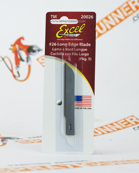 Long Edge Blade 20026 Excel Hobby Blades