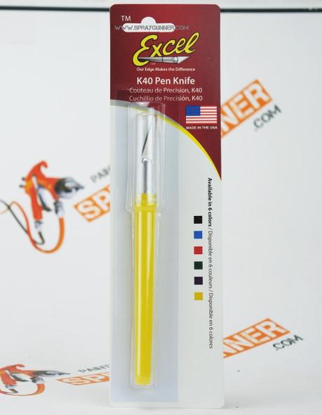 Excel Blades - K40 Pen Knife 16040 Excel Hobby Blades