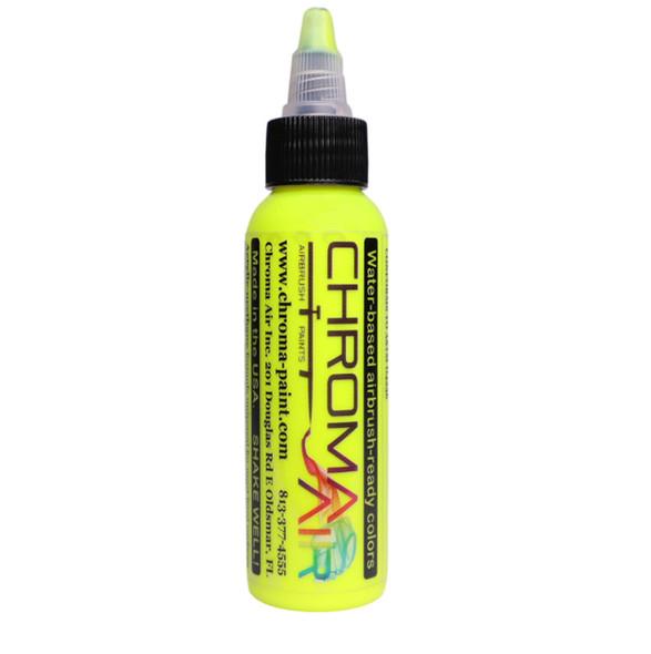ChromaAir Paints Fluorescent Yellow CA506 ChromaAir Paints