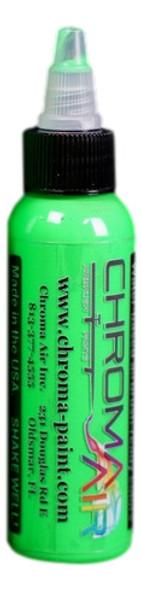 ChromaAir Paints Fluorescent Green CA505 ChromaAir Paints