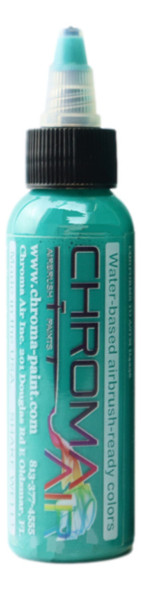 ChromaAir Paints Fluorescent Aqua CA502 ChromaAir Paints
