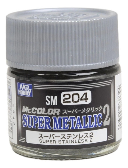 GSI Creos Mr Color Paint Super Metallic 2 Super Stainless 2 SM204 GSI Creos Mr Hobby