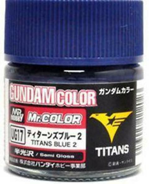 GSI Creos Gundam Color Model Paint Titans Blue 2 UG17 UG17 GSI Creos Mr Hobby
