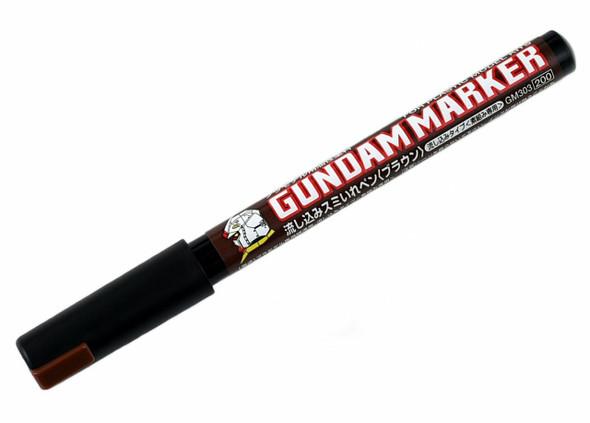 Mr Hobby Gundam Marker Pouring Marker Brown GM303P GM303P GSI Creos Mr Hobby