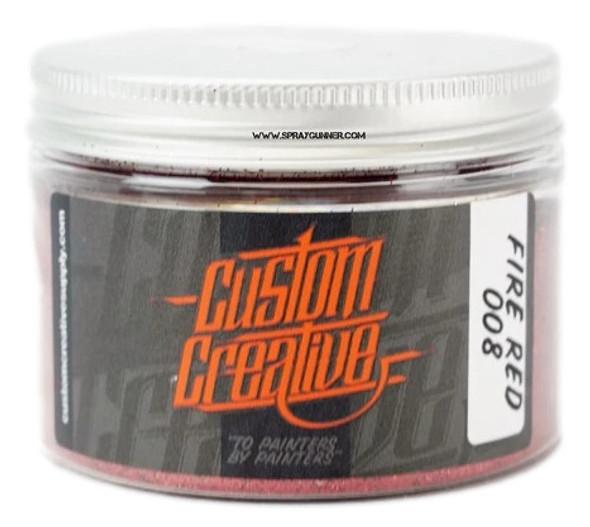 Custom Creative Flake Fire Red FK008-3-FR Custom Creative