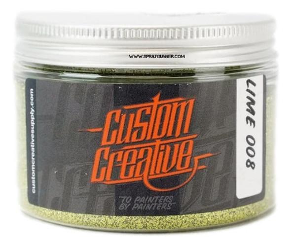 Custom Creative Flake Lime FK008-3-LM Custom Creative