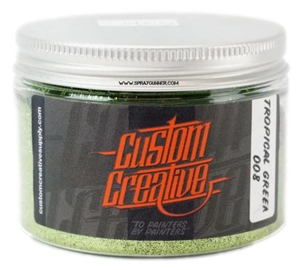 Custom Creative Flake Tropical Green FK008-3-TG Custom Creative