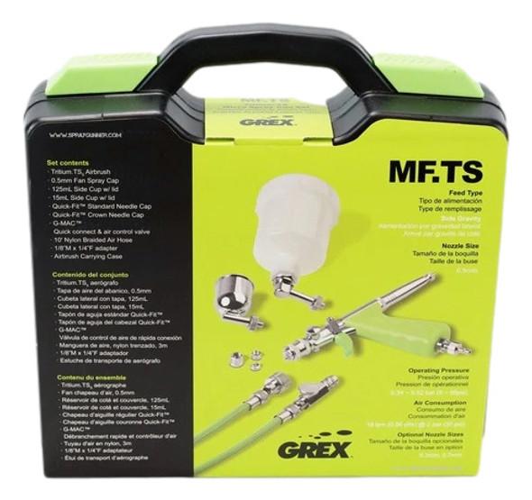 Grex TritiumTS Micro Spray Gun Set MFTS MFTS Grex Airbrush