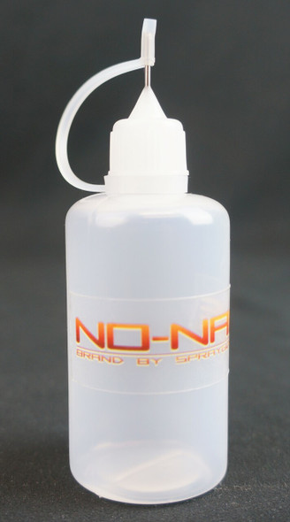 Plastic Cleaning bottle with twist on cap 1oz NN-CBTC NO-NAME brand