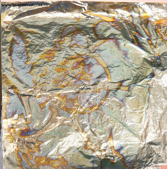Variegated Blue Leafing Sheets 25 pack LFL-VB Custom Creative