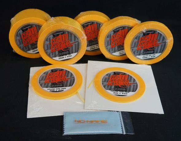 Custom Creative Yellow Rice Tape Starter Pack CC-RICEPACK Custom Creative