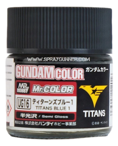 GSI Creos Gundam Color Model Paint Titans Blue 1 UG16 UG16 GSI Creos Mr Hobby