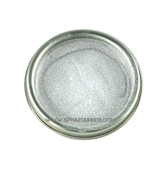Fine Silver urethane striping paint 125ml by Custom Creative PNUM-FS-125 Custom Creative