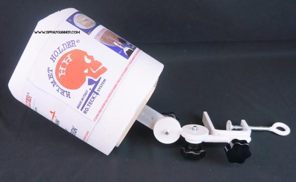 Helmet Holder for airbrushing by RoTeck System HelmetHolder RoTek System