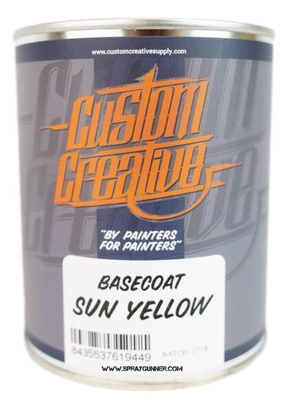 Custom Creative Paints Sun Yellow 1 liter 33.8oz BCSS-SY-1 Custom Creative