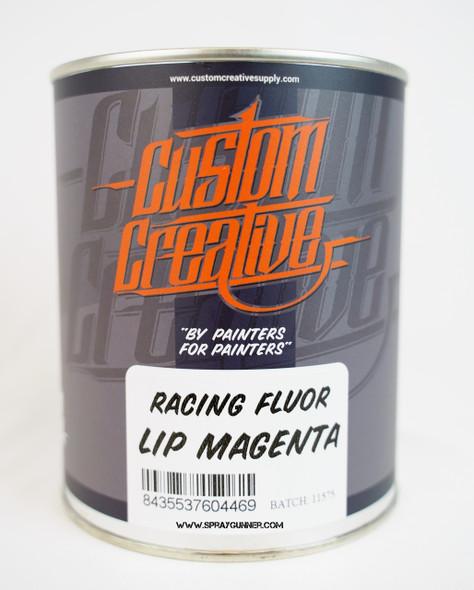 Custom Creative Paints Flourescent Lip Magenta 1 liter 33.8oz FLS-LM-1L Custom Creative