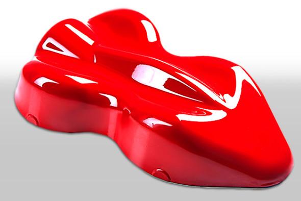 Custom Creative Paints Flourescent Lava Red 1 liter 33.8oz FLS-LR-1L Custom Creative