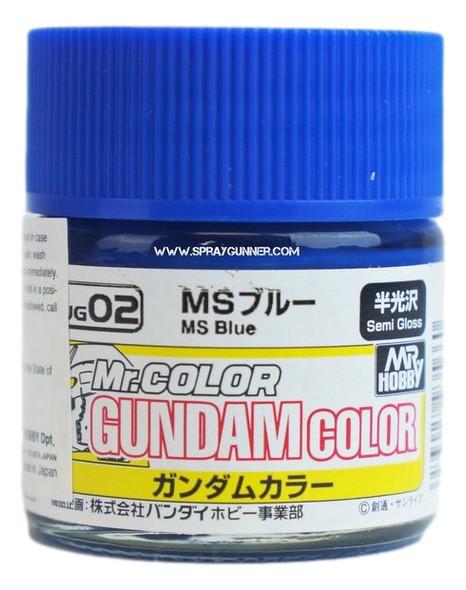GSI Creos Gundam Color Model Paint MS Blue UG02 UG02 GSI Creos Mr Hobby