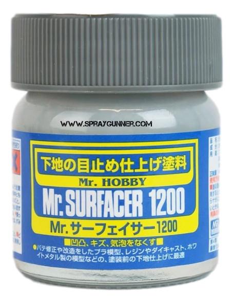 GSI Creos MrSurfacer 1200 Bottle SF286 GSI Creos Mr Hobby