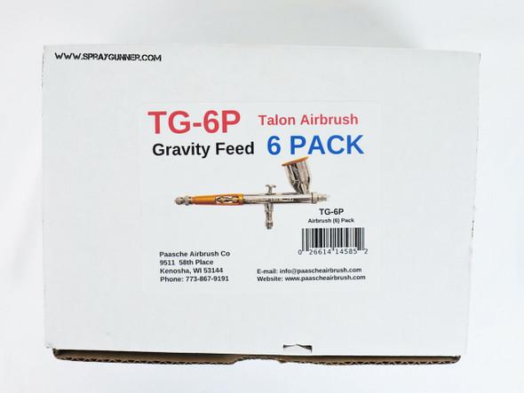 Paasche Talon Gravity-Feed Airbrush 6 Pack TG-6P Paasche