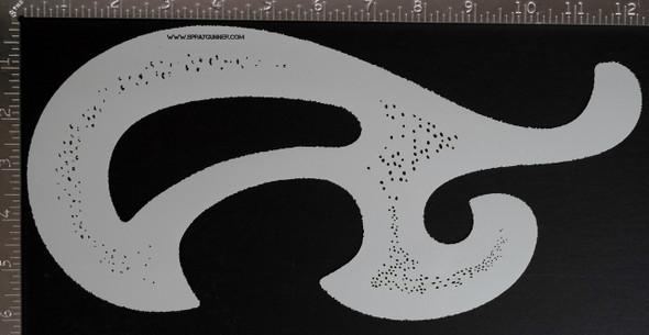 Blair Stencil - Organic Edge French curve BLAIR