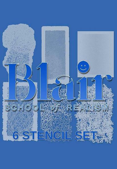 Blair Organic Edge stencil Series Set BLAIR