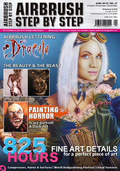 Airbrush Step by Step Magazine 04/15 ASBS 04/15 Step by Step Magazine