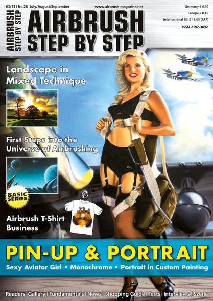 Airbrush Step by Step Magazine 03/13 ASBS 03/13 Step by Step Magazine