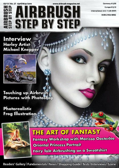 Airbrush Step by Step Magazine 02/13 ASBS 02/13 Step by Step Magazine