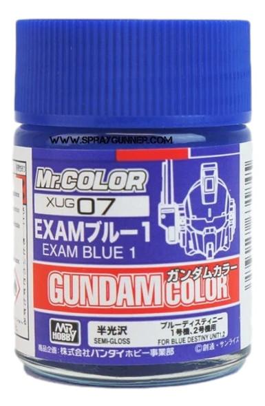 GSI Creos MrHobby Gundam Color Model Paint Exam Blue XUG07 GSI Creos Mr Hobby