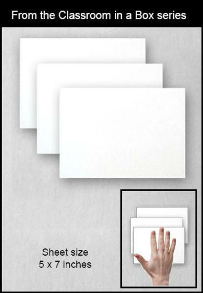 Blair Synthetic Paper - 3 sheets 5 x 7 inches BLSP-002 BLAIR