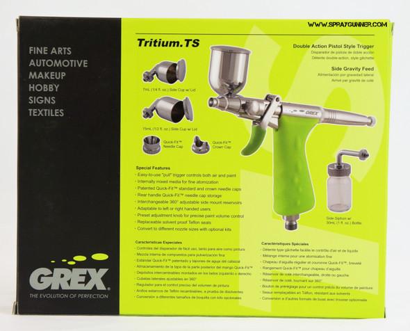 Grex Tritium.TS3 pistol grip airbrush (TS3.Tritium)
