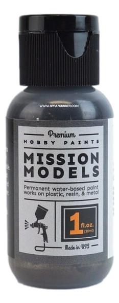 Mission Models Paints Color MMM-010 Gun Metal MMM-010 Mission Models Paints