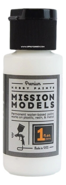 Mission Models Paints Color MMGBB-002 Gloss White Base MMGWB-002 Mission Models Paints