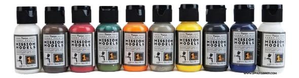 Primary Colors Mission Models Paint Set MMP-PRIMARY Mission Models Paints
