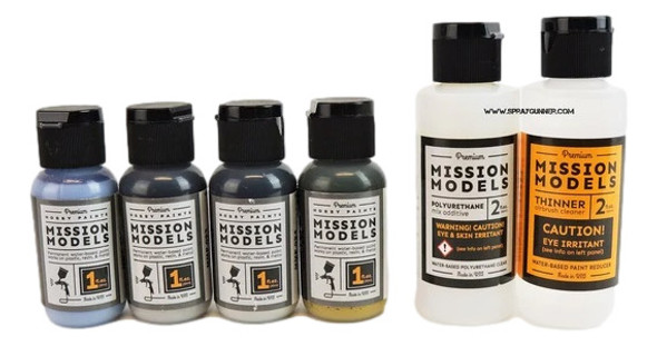Mission Models Paints Royal Air Force RAF WWII Paint Set #2 MMP-RAFset#2 Mission Models Paints