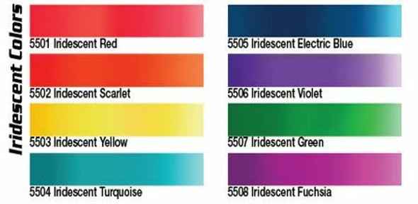 Createx 8 Color Iridescent 2oz Set CX8IRD Createx