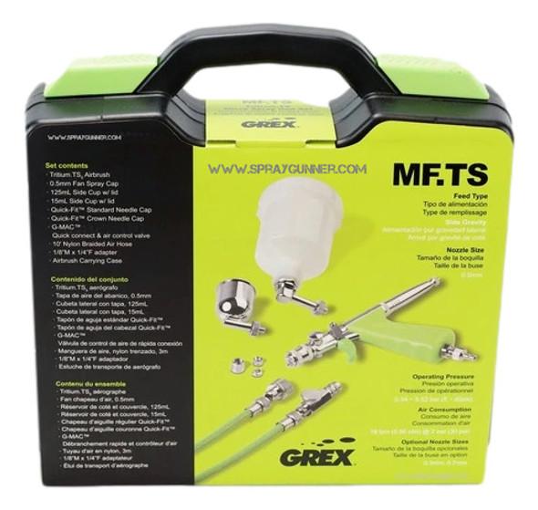 Grex TritiumTS Micro Spray Gun Set 0.7mm MFTS7 Grex Airbrush