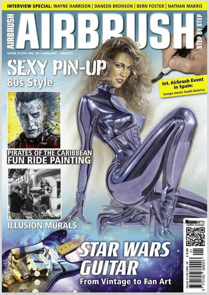 Airbrush Step by Step Magazine 01/20 ASBS 01/20 Airbrush The Magazine
