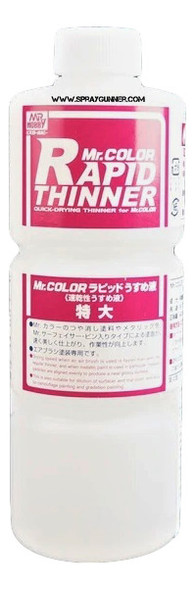 Mr Color Rapid Thinner 400ml T117 GSI Creos Mr Hobby