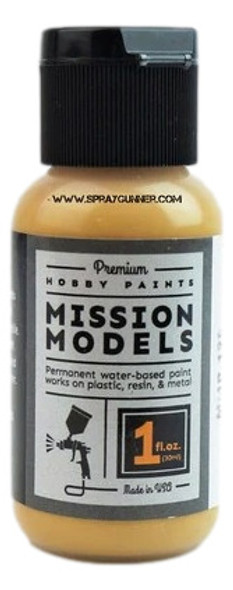 Mission Models Paints Color MMP-129 Earth Yellow Tan MERDEC MMP-129 Mission Models Paints