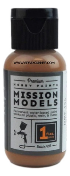 Mission Models Paints Color MMP-130 Earth Red Brown MERDEC MMP-130 Mission Models Paints