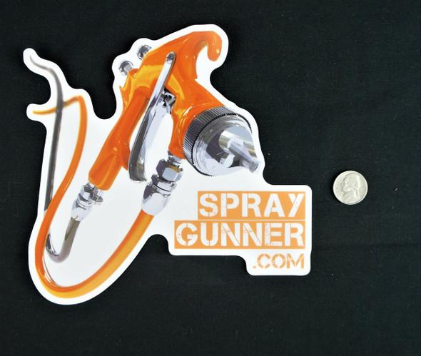 SprayGunner Sticker SG-Sticker SprayGunner