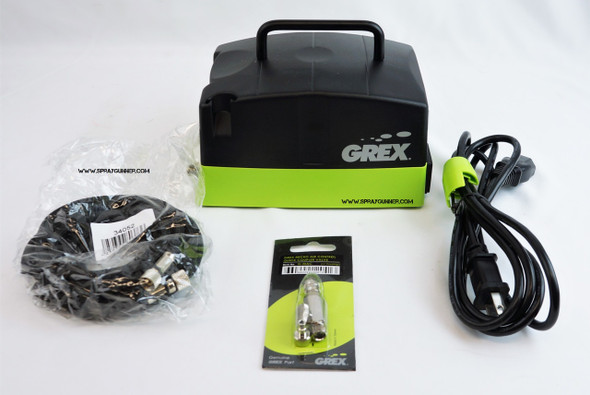 Grex Aeris I - Compact Piston Compressor AE1-A Grex Airbrush