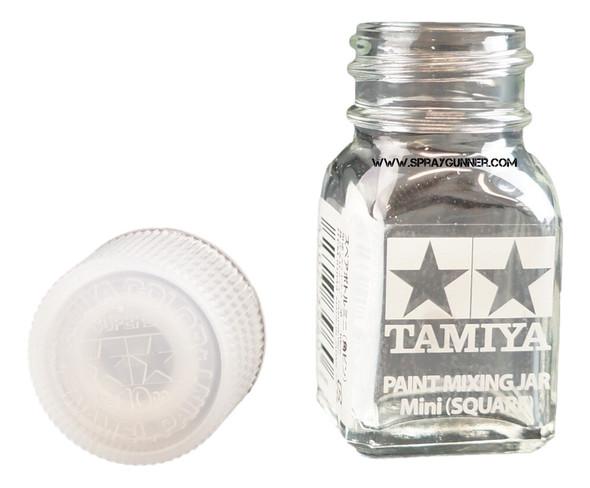 Tamiya Spare Bottle Mini 10ml Square 81043 Tamiya