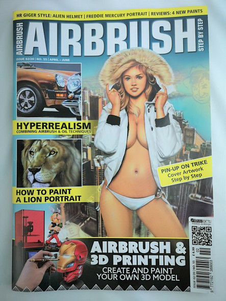 Airbrush Step by Step Magazine 02/20 ASBS 02/20 Step by Step Magazine