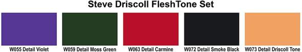 Wicked Flesh Tone Set W111 W111 Createx