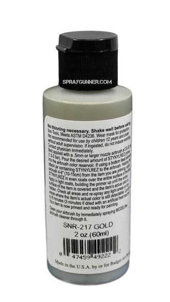 Badger STYNYLREZ Primer - Gold SNR-217 Badger