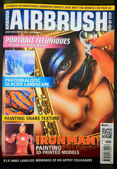 Airbrush Step by Step Magazine 03/20 ASBS 03/20 Step by Step Magazine